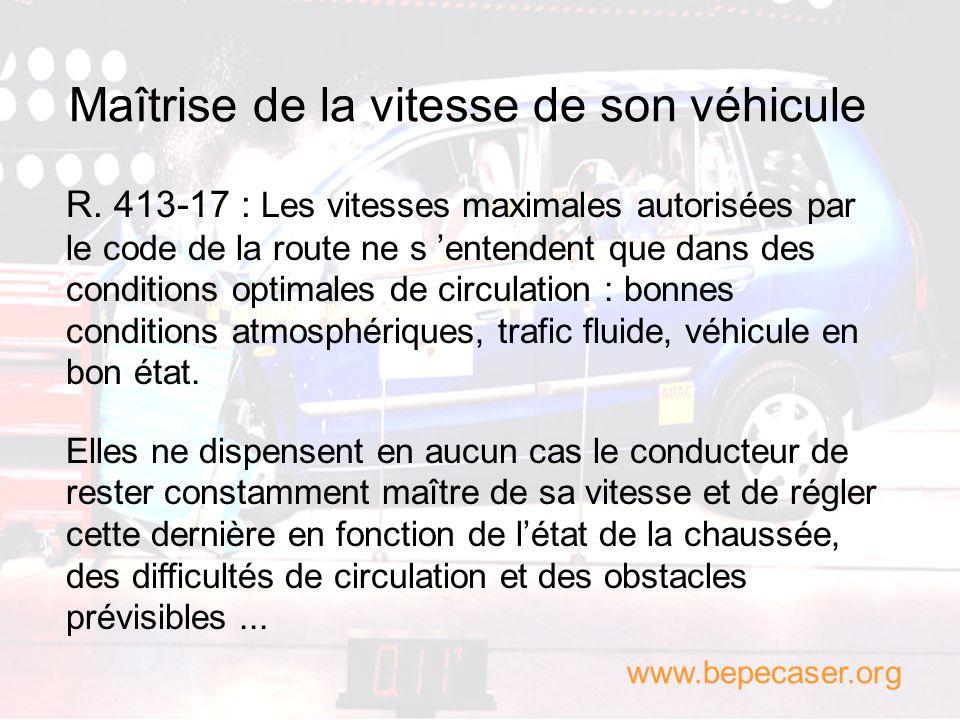 Les zones de danger potentiel Le conducteur doit prévoir léventuelle apparition dun obstacle ou dun usager que lon ne voit pas encore à cause dune res