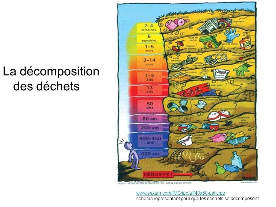 La décomposition des déchets www.sextan.com/IMG/jpg/aff40x60-petit.jpg schéma représentant pour que les déchets se décomposent