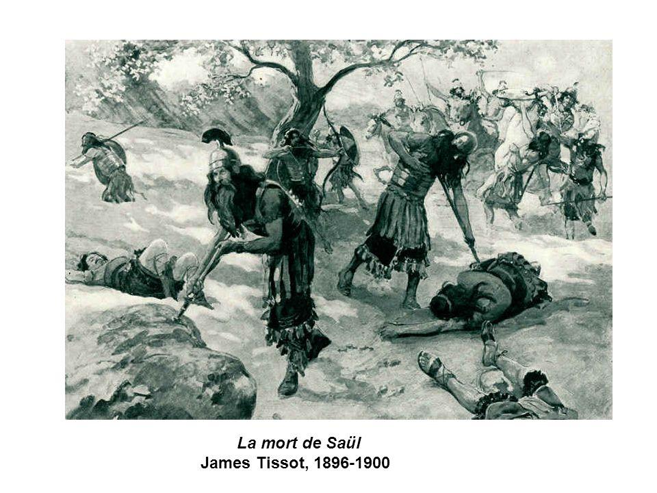 La mort de Saül James Tissot, 1896-1900