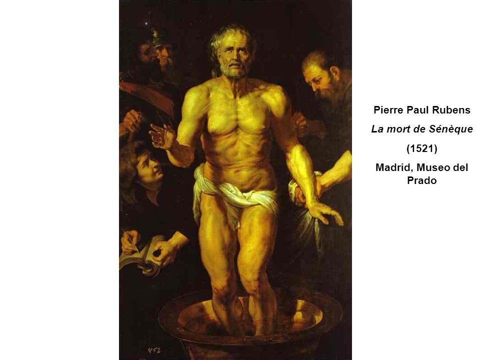 Pierre Paul Rubens La mort de Sénèque (1521) Madrid, Museo del Prado