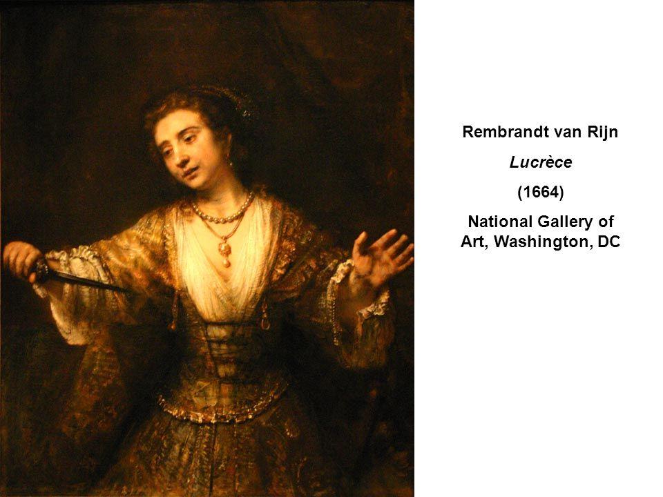 Rembrandt van Rijn Lucrèce (1664) National Gallery of Art, Washington, DC