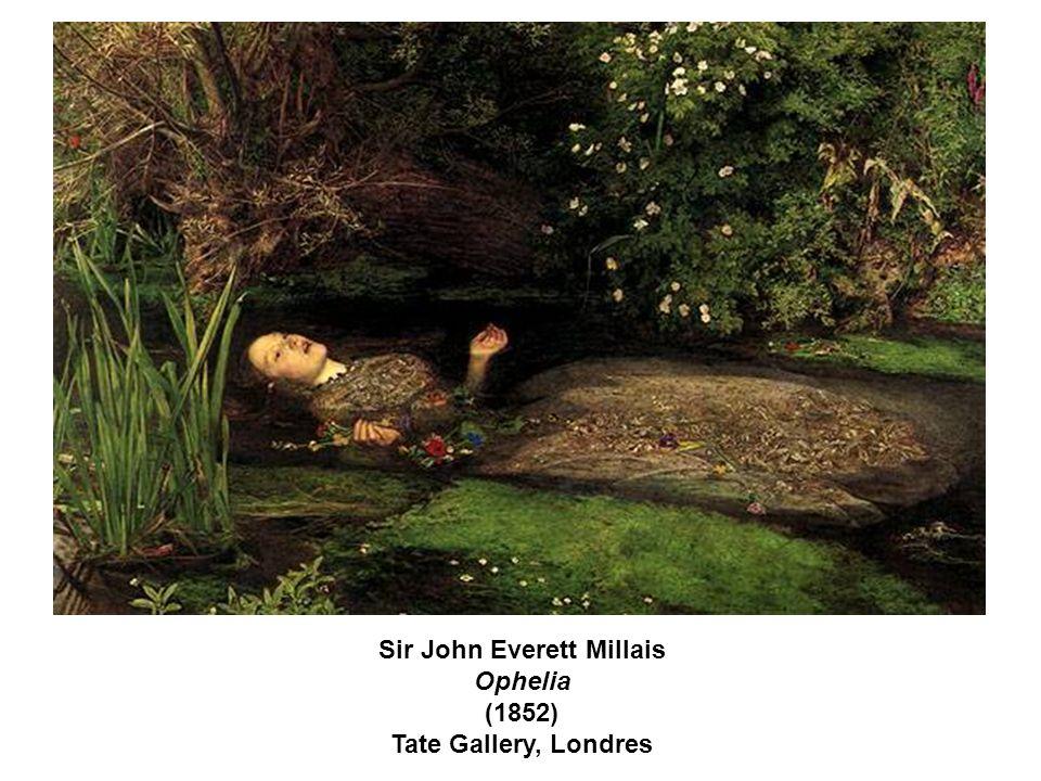Sir John Everett Millais Ophelia (1852) Tate Gallery, Londres