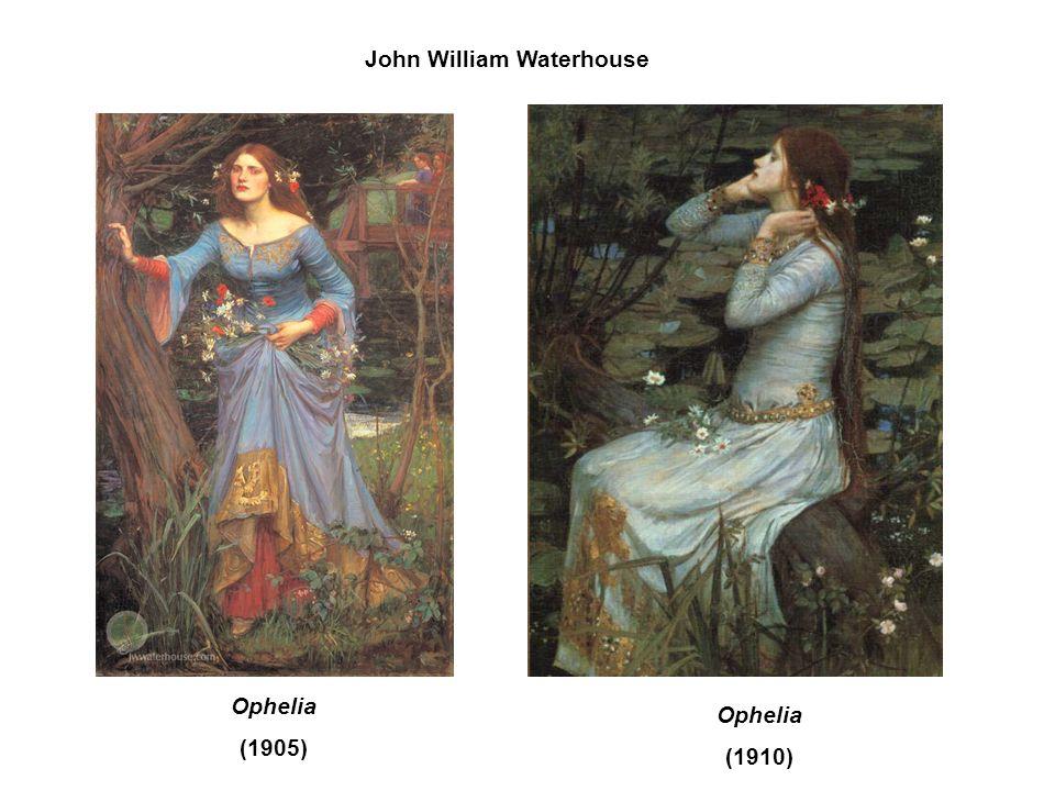 John William Waterhouse Ophelia (1905) Ophelia (1910)