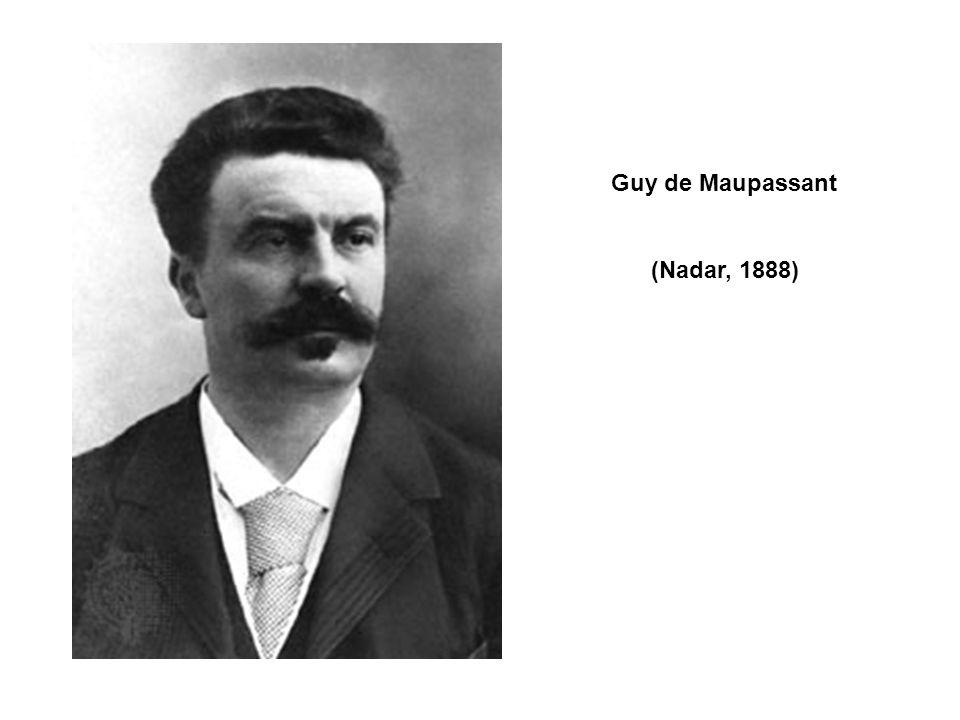 Guy de Maupassant (Nadar, 1888)