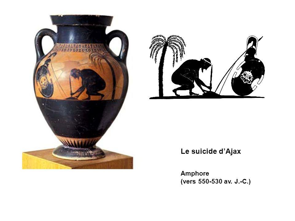 Le suicide dAjax Amphore (vers 550-530 av. J.-C.)