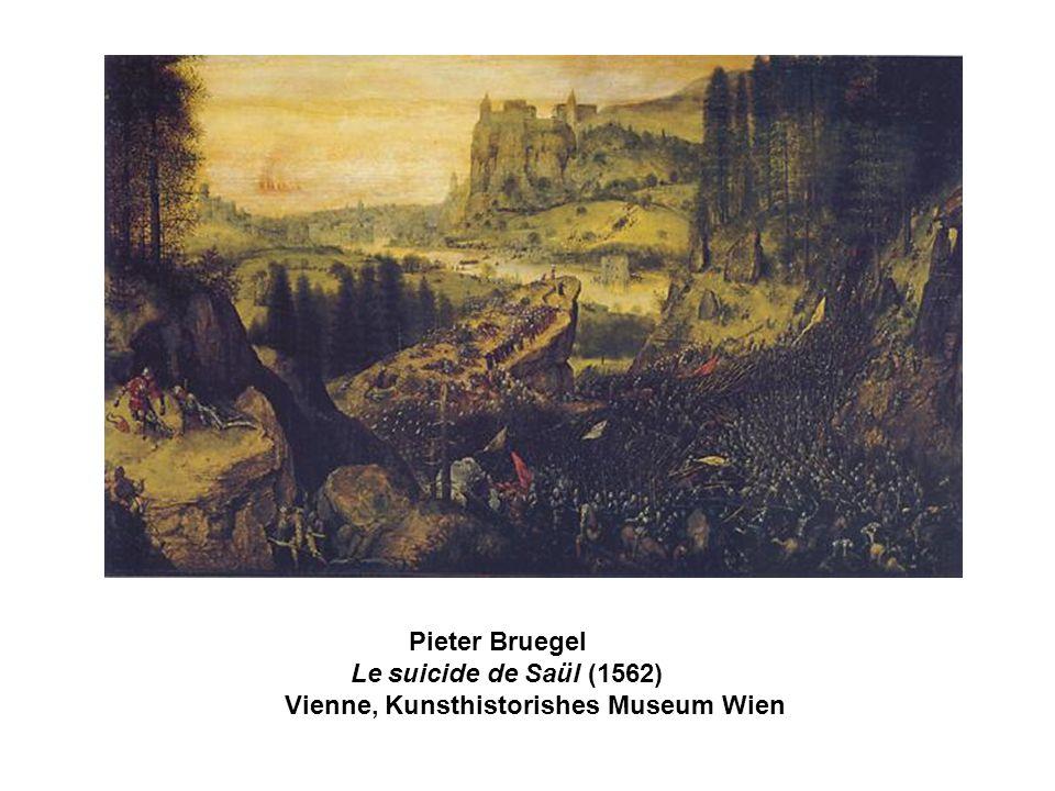 La mort de Saül Julius Schnorr von Carolsfeld, 1851-1860