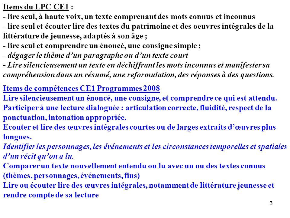 14 Lenseignement explicite a pour objectif de : –rendre transparents les processus inclus dans la tâche de lecture –développer lautonomie du lecteur