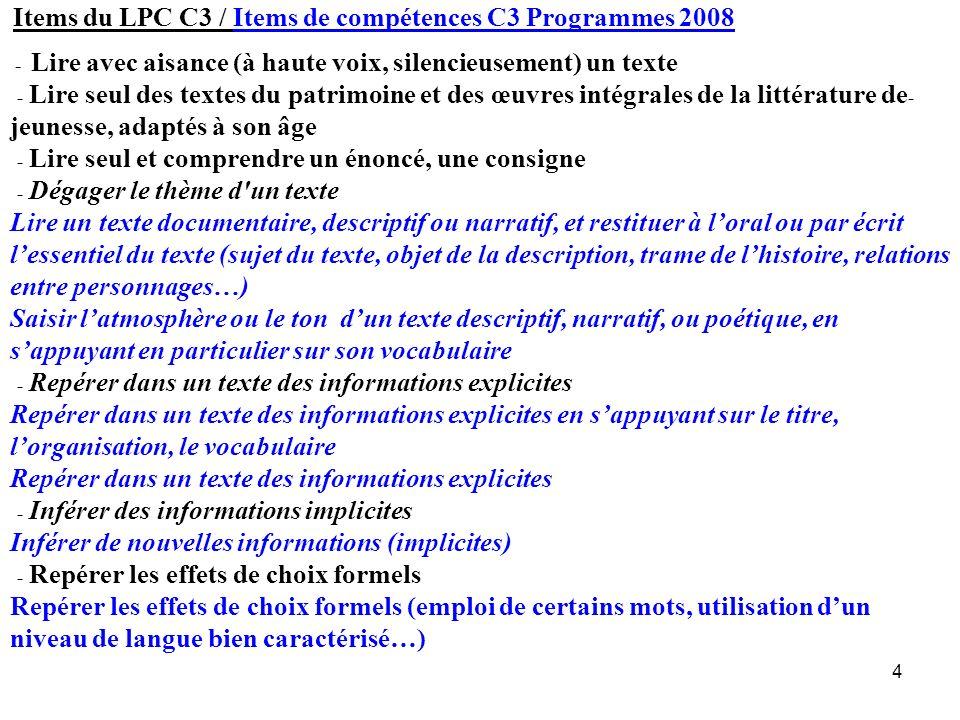 85 Ateliers Champs ciblés exercices proposés