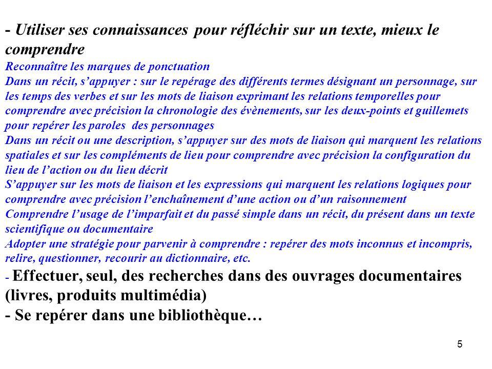 6 Ce document powerpoint est basé sur les travaux de recherche de R.Goigoux, S.