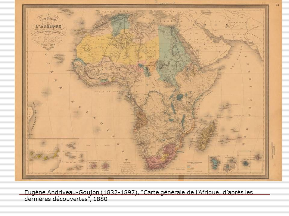 Conclusion Ni afro-pessimisme, ni afro- optimisme mais afro-réalisme « Il nous faut réapprendre à voir les Africains autrement, ni frères, ni sujets, mais des hommes de notre monde et de notre temps » Michel Levallois, collectif Futurs africains, Misère de lAfro-pessimisme, Afrique &histoire, 2005, n°3)