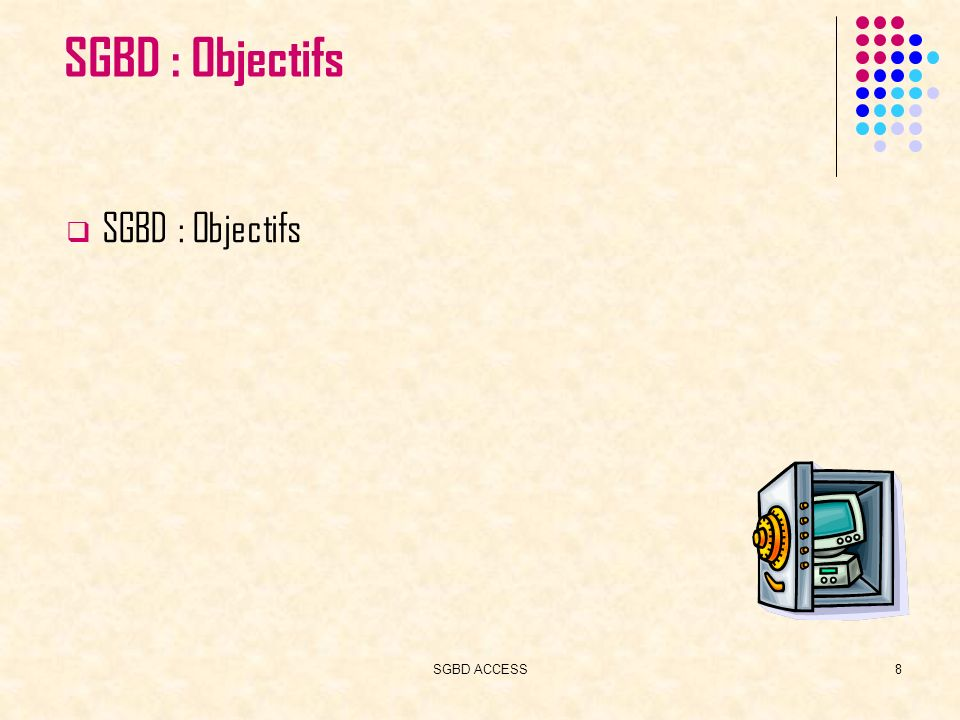 SGBD ACCESS9 SGBD: Bref historique