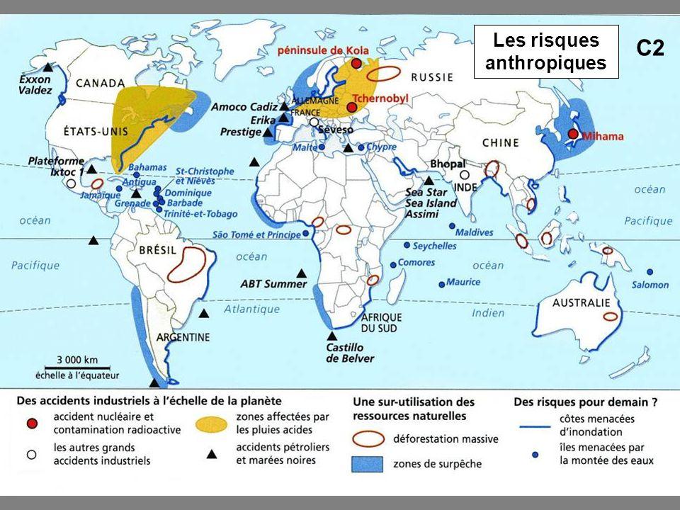 Les risques anthropiques C2