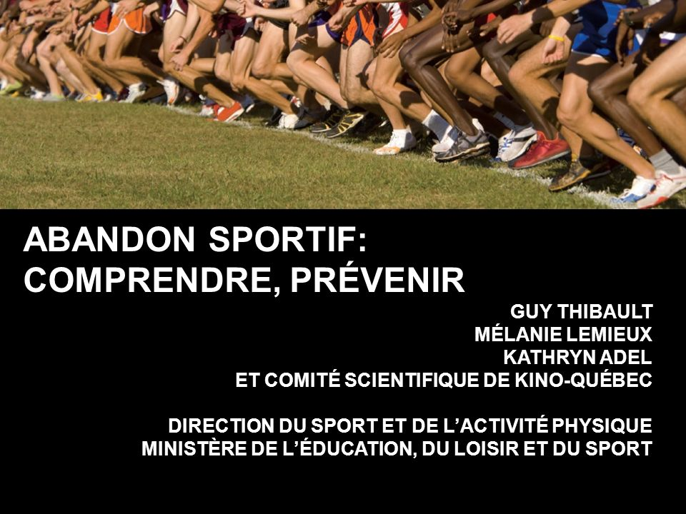 Facteurs dabandon: pairs Valeur Nombre damis Conflit vie sociale c. sportive