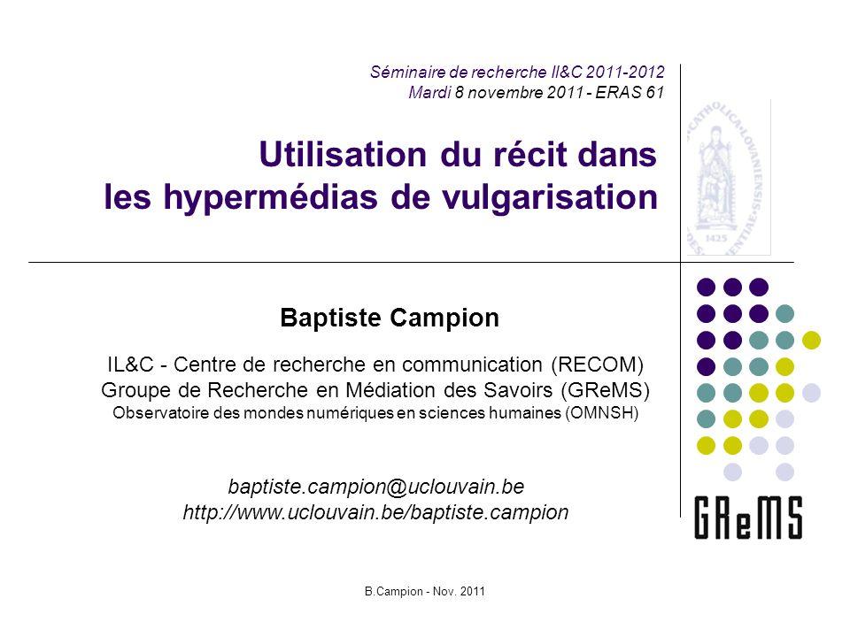 B.Campion - Nov.
