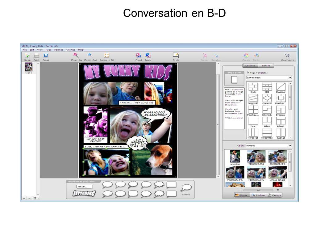 Conversation en B-D