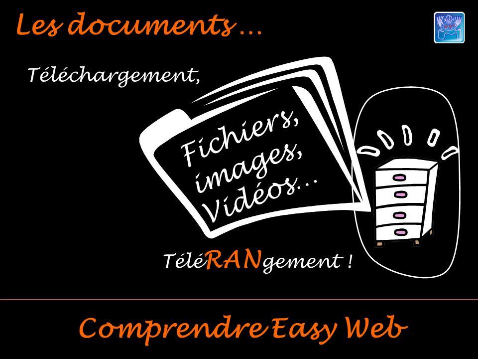 Les documents … Comprendre Easy Web Téléchargement, Télé RAN gement ! Fichiers, images, Vidéos…