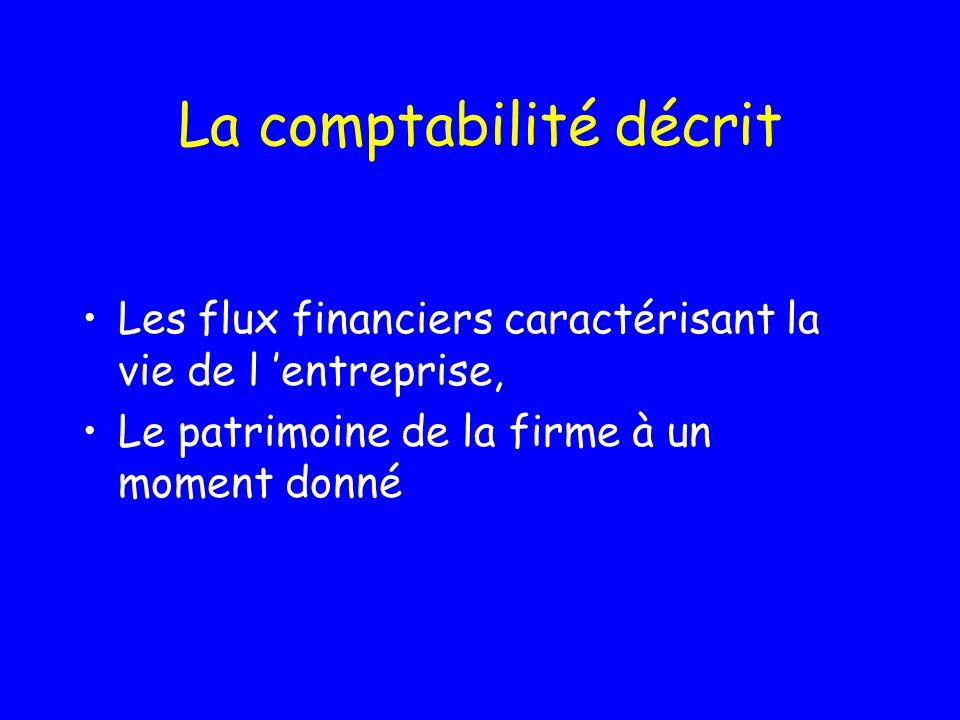 Flux, surplus, finances… Patrice Salini Octobre 2000-Mars 2003