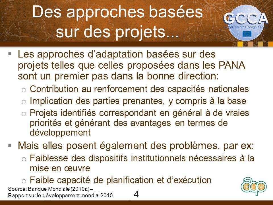 Des approches basées sur des projets...