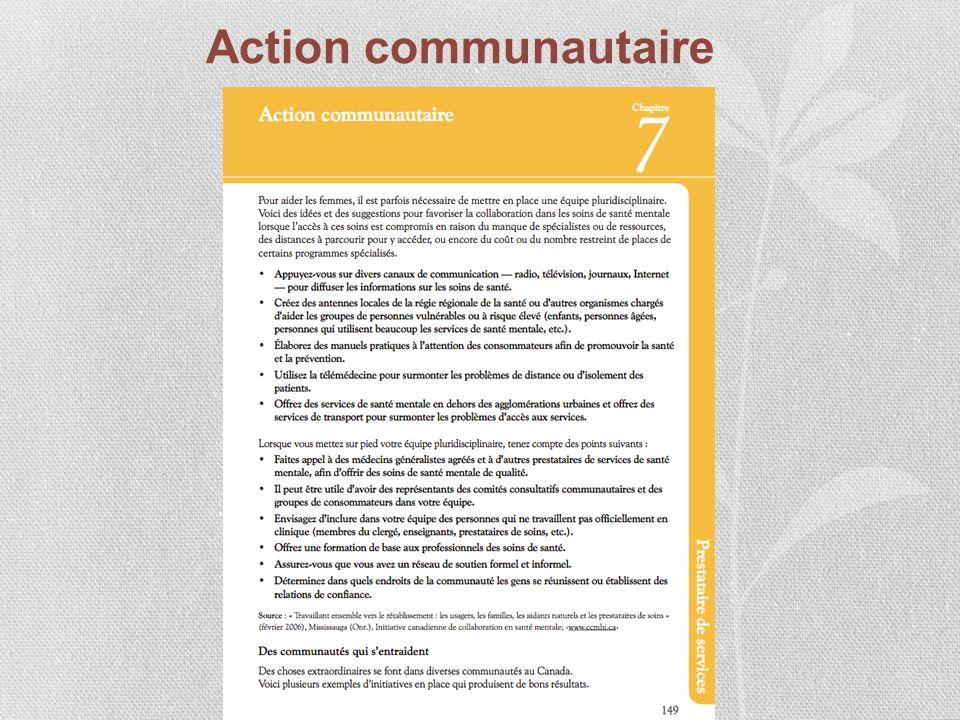 Action communautaire