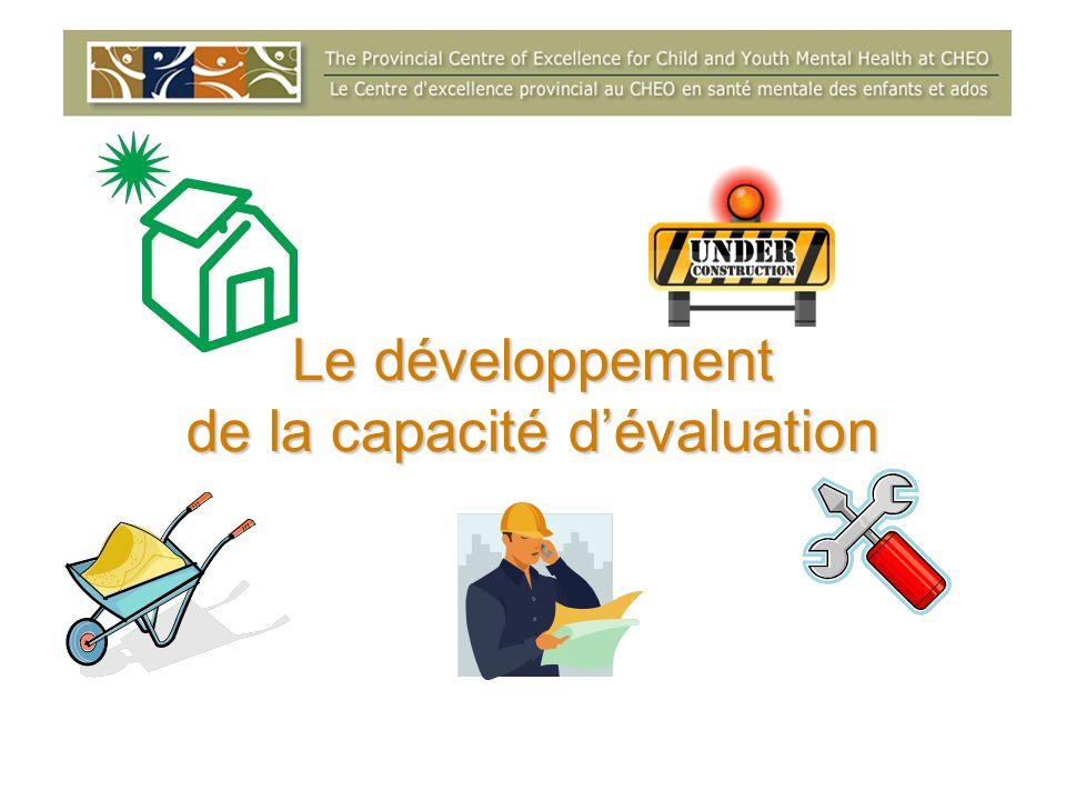 Le développement de la capacité dévaluation
