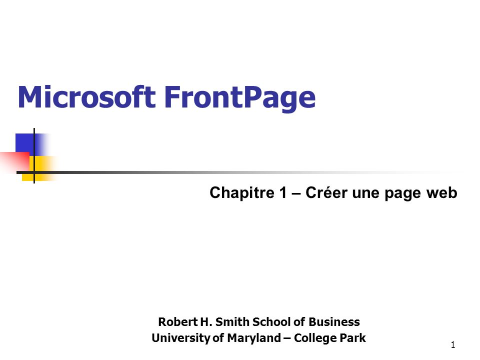 You are learning Microsoft FrontPage Click to Continue 42