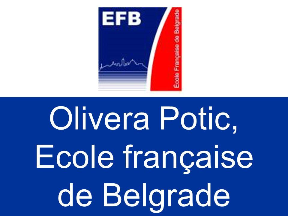 Angelina Djordjevic: Réaliser un manuel de serbe langue étrangère Réaliser un livre de tests Créer une page internet serbe langue étrangère sur le sit