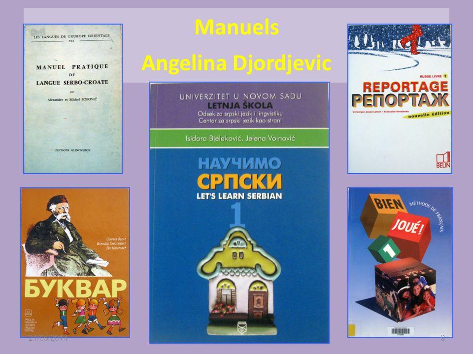 Premier degré Durant temps scolaire et hors temps scolaire dans le cadre des cours de serbe renforcé une heure par semaine LE - groups de cinq à dix é