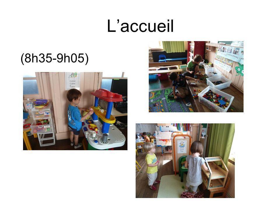 Laccueil (8h35-9h05)