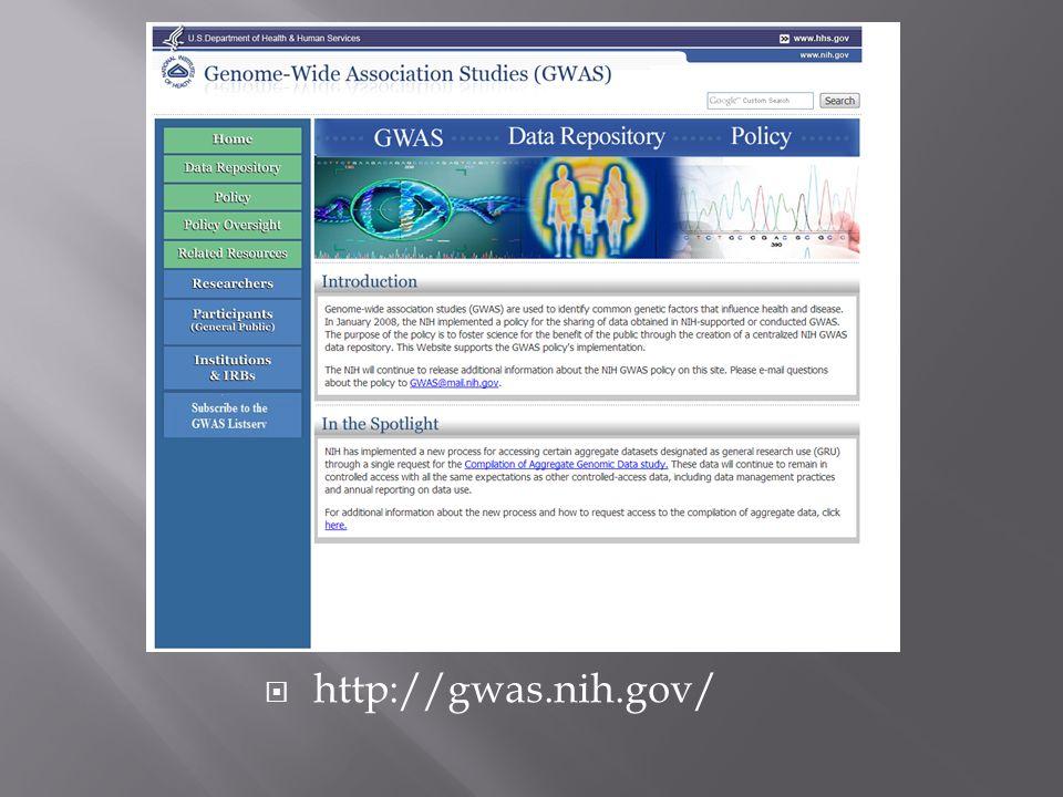 http://gwas.nih.gov/