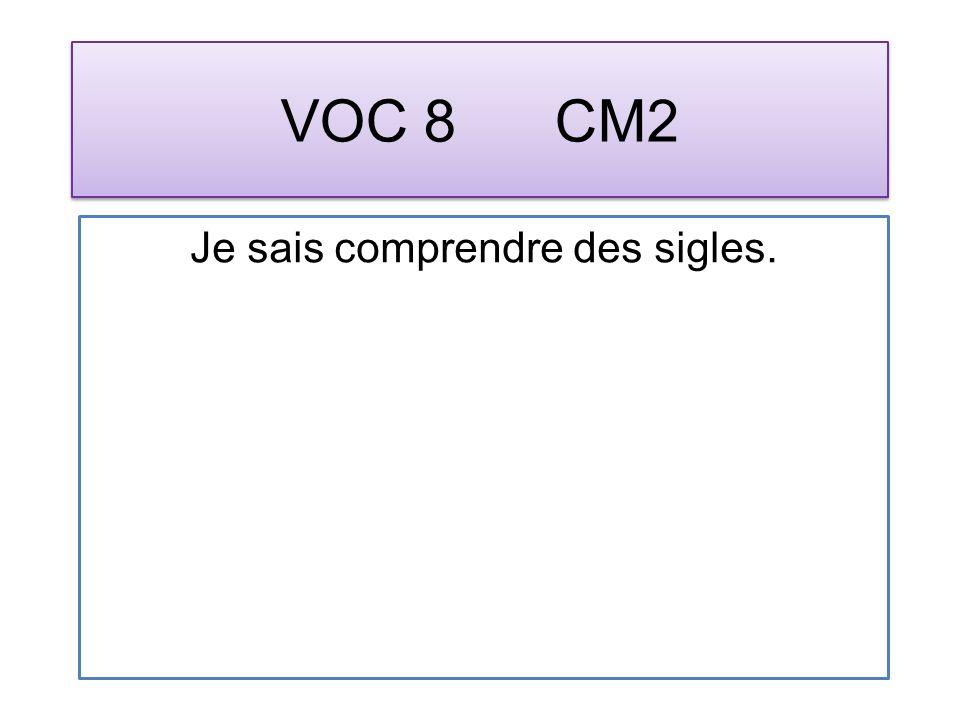 VOC 19 CM2 Je sais identifier une expression au sens figuré.