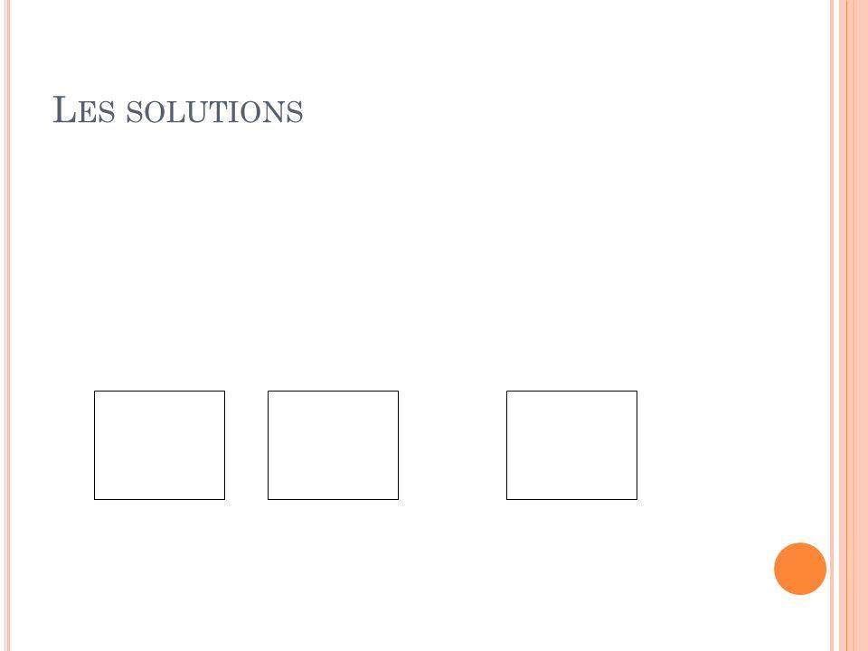 L ES SOLUTIONS