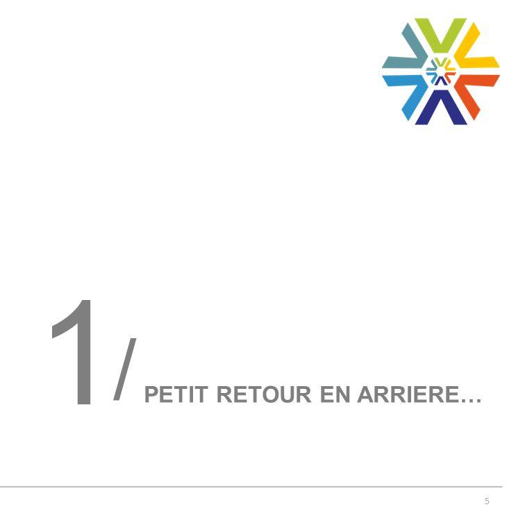 5 PETIT RETOUR EN ARRIERE… 1 /