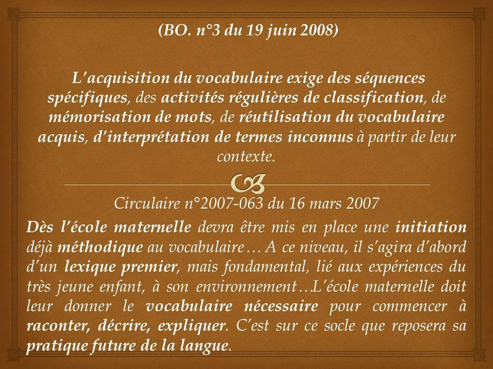 (BO.n°3 du 19 juin 2008) (BO.