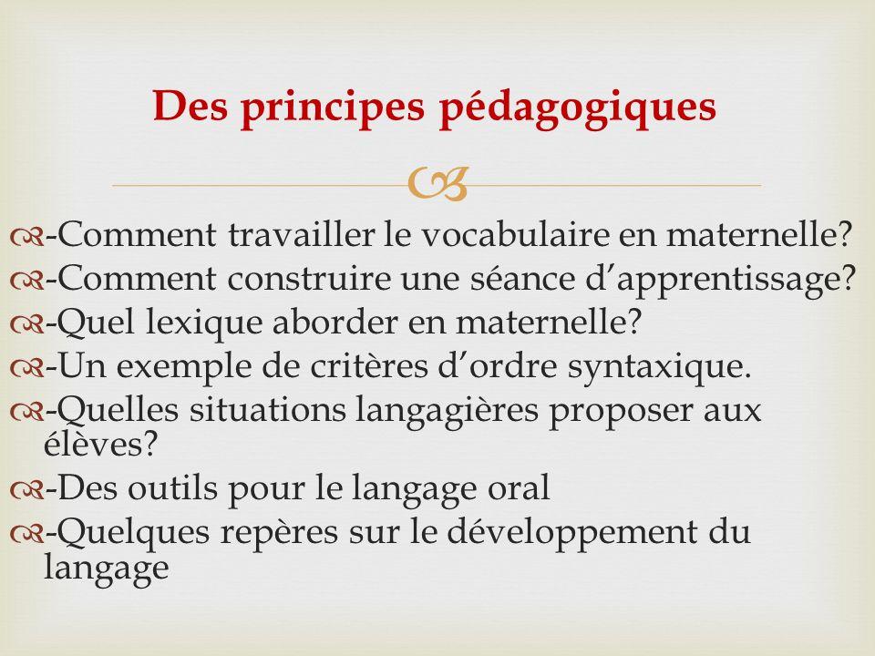 Pierre Péroz: Le dialogue pédagogique à évaluation différée: -> une nouvelle modalité dorganisation des séances de langage.