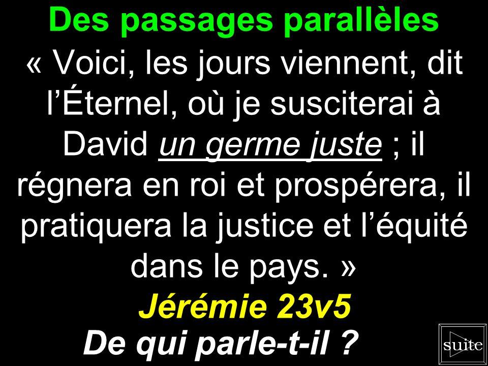 La révélation de Dieu « Voici, je ferai venir mon serviteur, le germe. » Zacharie 3v8b Quest-ce quil révèle ?