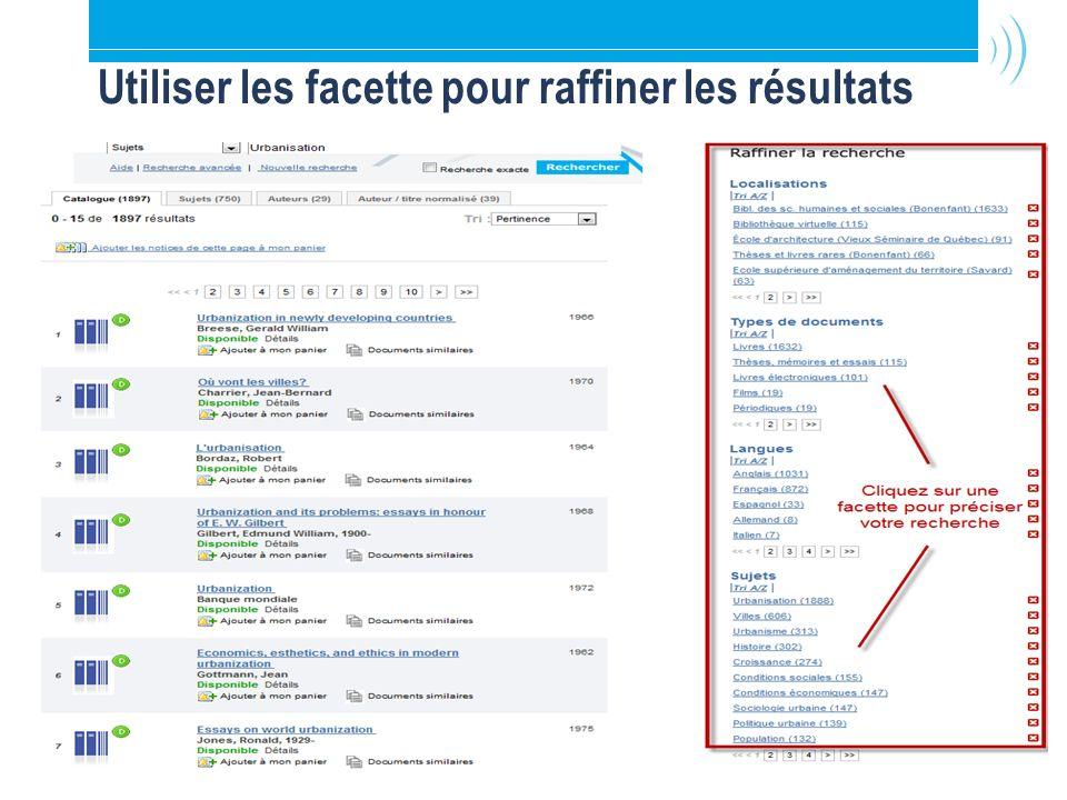 10 Ariane 2.0: Recherche simple par sujet Exemple sous-titre