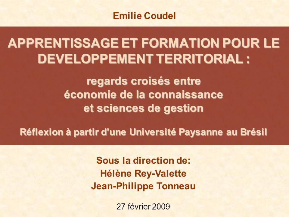 Développement territorial proximités ressources locales identité affirmation dun projet commun (Deffontaines ; Pecqueur) Problématique 1.