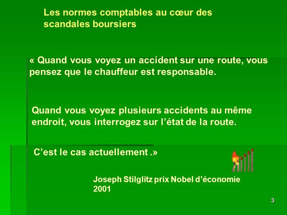 3 « Quand vous voyez un accident sur une route, vous pensez que le chauffeur est responsable. Quand vous voyez plusieurs accidents au même endroit, vo