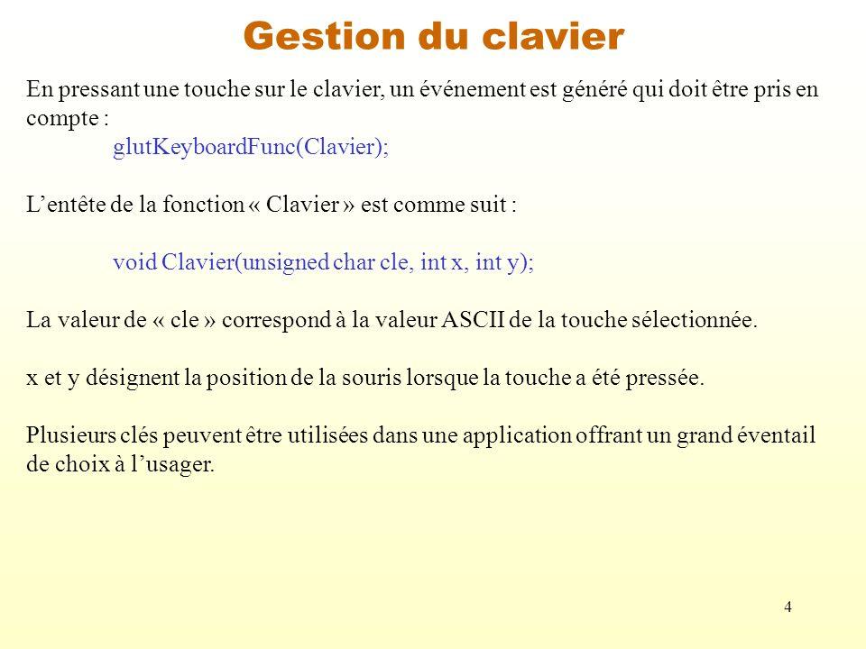15 void Ajouter_Position(int cle, int sx, int sy) {// La clé « » permet dajouter une position à une liste.