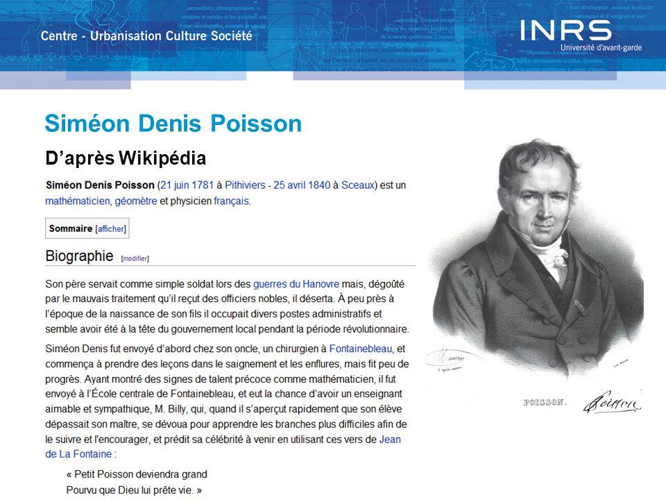 Siméon Denis Poisson Daprès Wikipédia