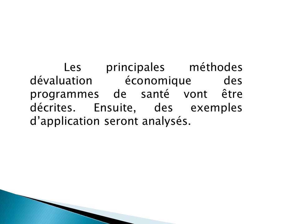 4 - L évaluation par analyse coût - utilité L utilité est une autre mesure de la valeur.
