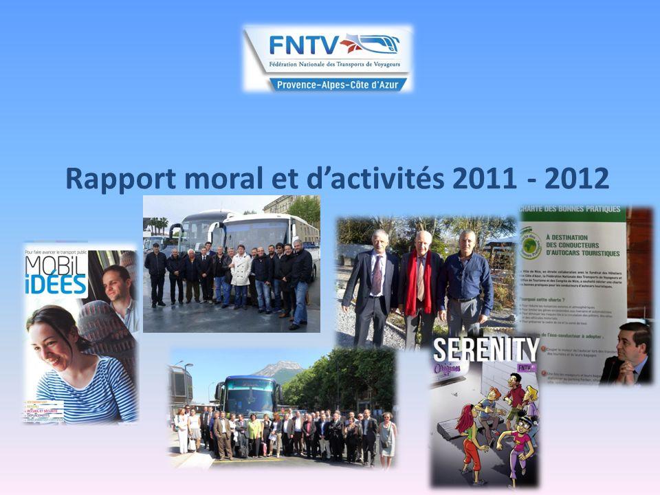 Rapport moral et dactivités 2011 - 2012 3/ Le droit de la concurrence : la nécessité de mieux maitriser notre cadre juridique et contentieux : - cf.