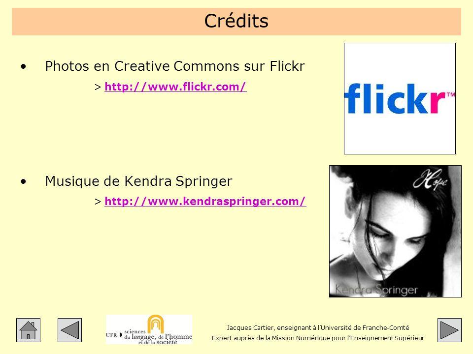 Jacques Cartier, enseignant à lUniversité de Franche-Comté Expert auprès de la Mission Numérique pour lEnseignement Supérieur Crédits Photos en Creati