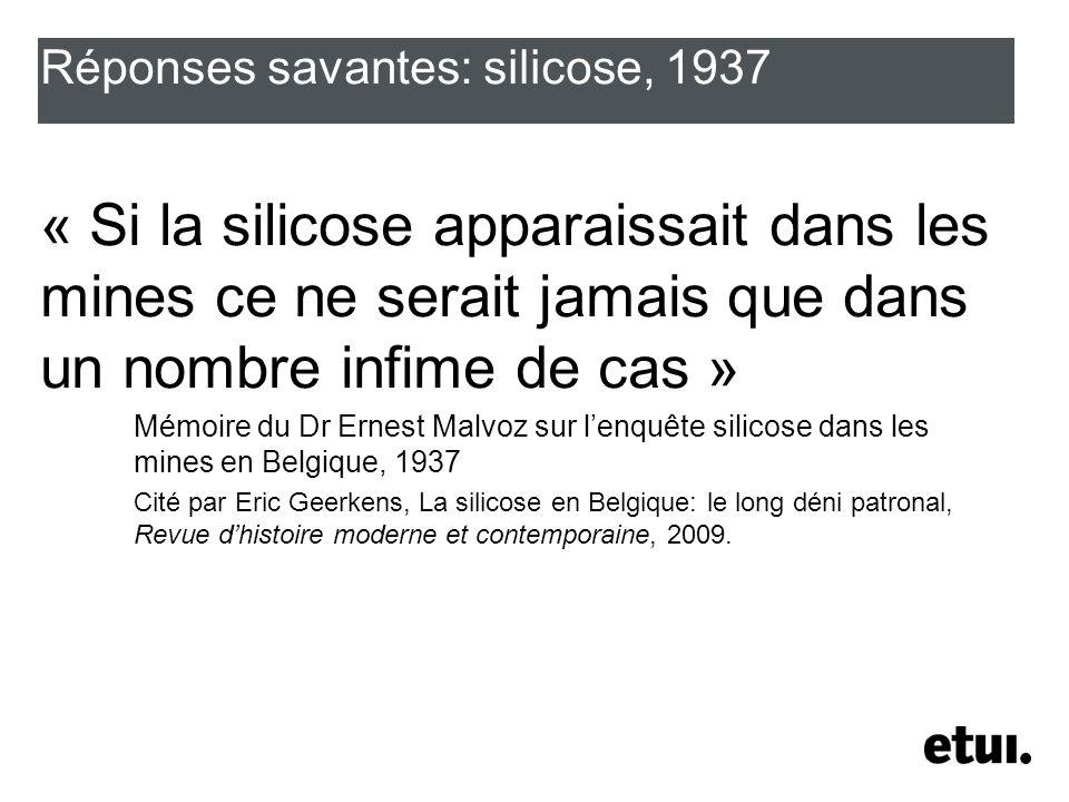 Réponses savantes: cancer (2007) Environ 2,5% des cancers masculins et 0,3% des cancers féminins attribuables en 2000 à des causes professionnelles en France (Rapport de lAcadémie de médecine – Tubiano - 2007)