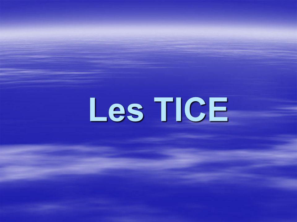 Les TICE