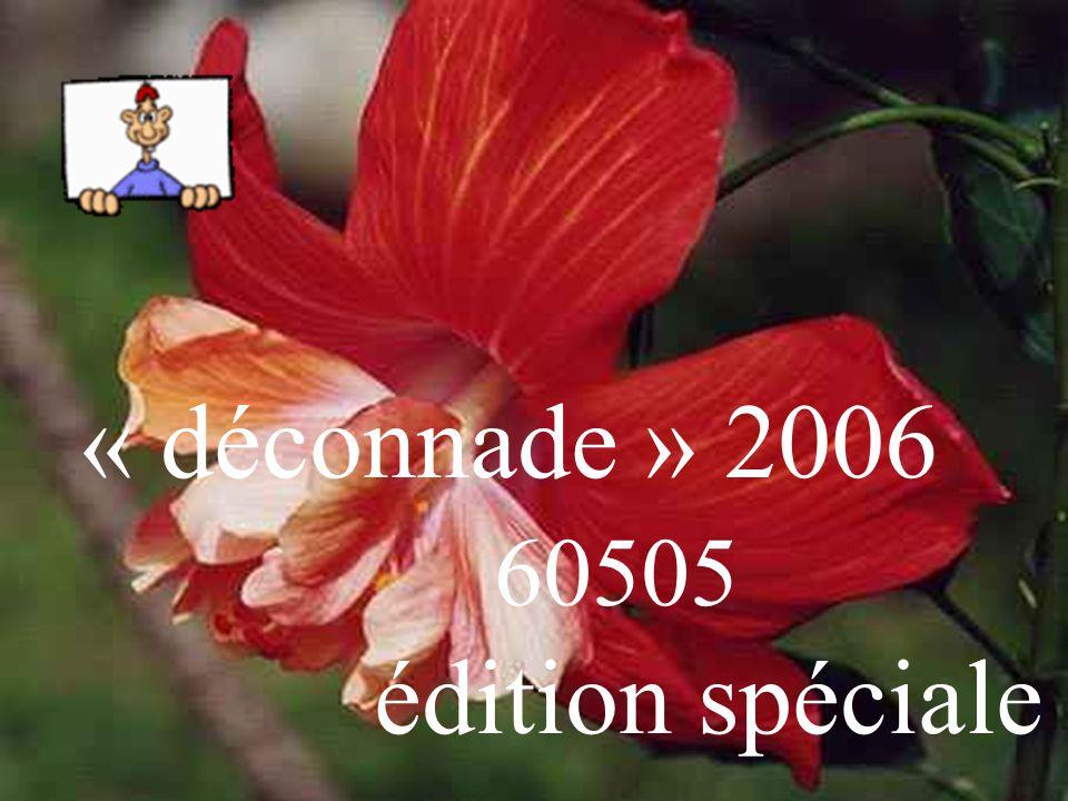 « déconnade » 2006 60505 édition spéciale