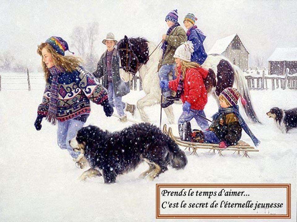 J'ai vécu un jour des merveilles Vous et moi souvenez-vous-en Nos hivers dautrefois !!! Nos hivers dautrefois !!!