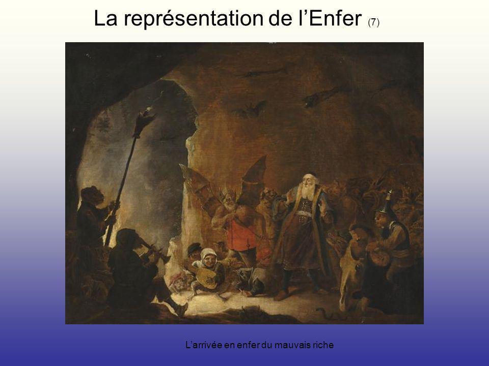La représentation de lEnfer (7) Larrivée en enfer du mauvais riche