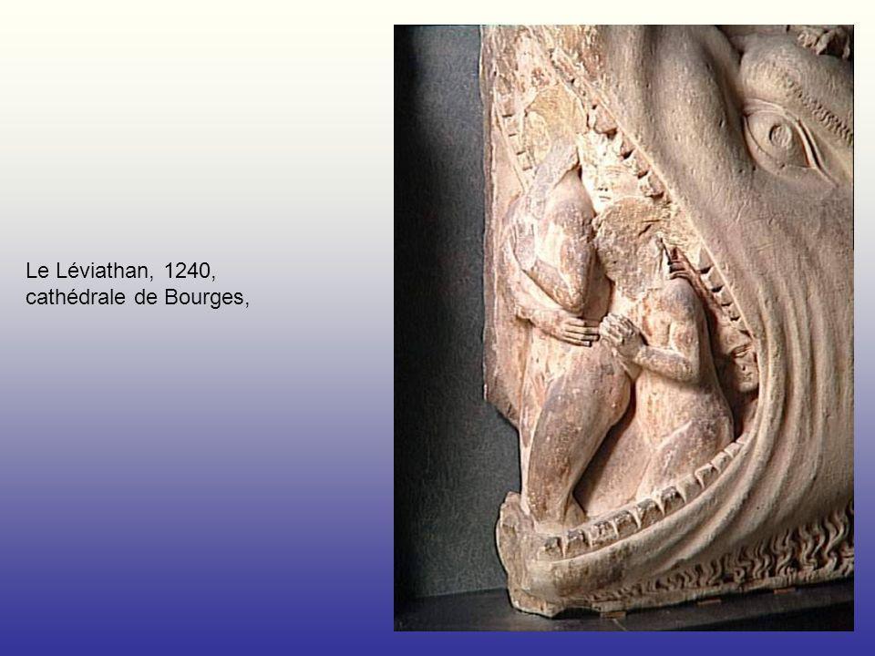 Le Léviathan, 1240, cathédrale de Bourges,