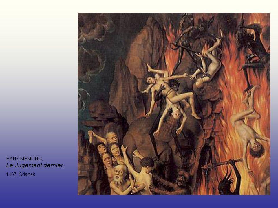 HANS MEMLING, Le Jugement dernier, 1467, Gdansk